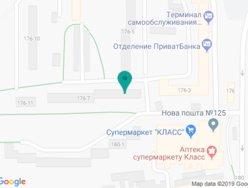 Стоматологическая клиника Киевской Н.Б. - на карте
